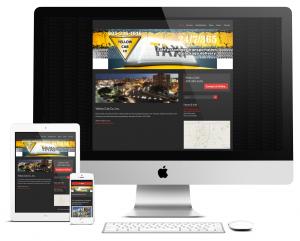 Yellow Cab responsive web site